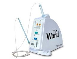 The wand anesthesia system